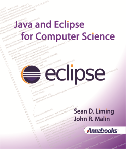 Java and Eclipse for Computer Science